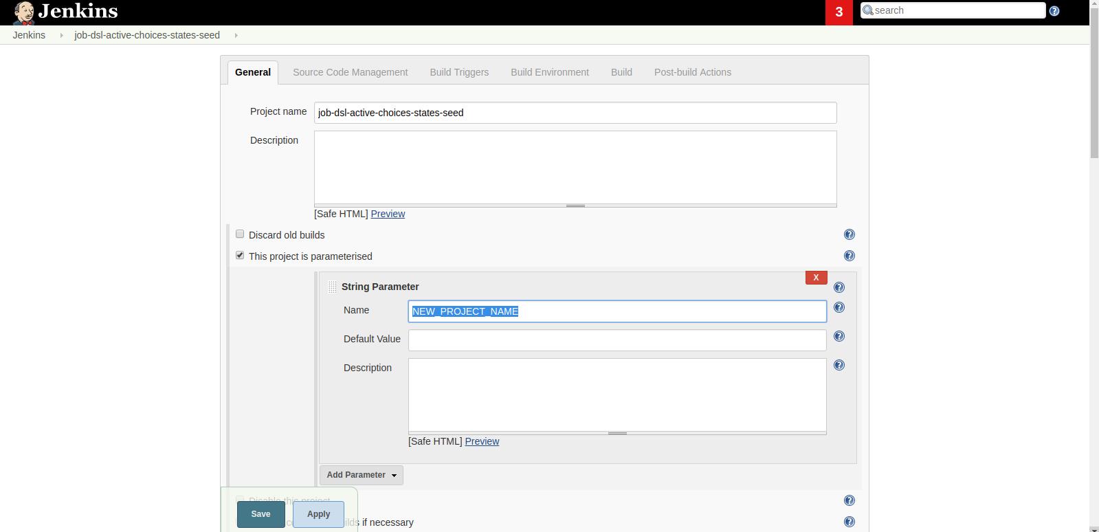 Using Job DSL Plugin with Active Choices Plugin - BioUno