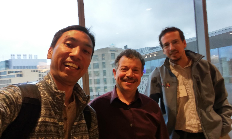 Kohsuke, Ioannis and Jesse